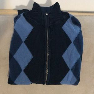 Dockers zip-up sweater
